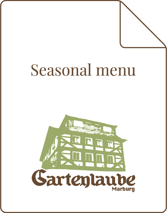 Gartenlaube Marburg Seasonal menu icon