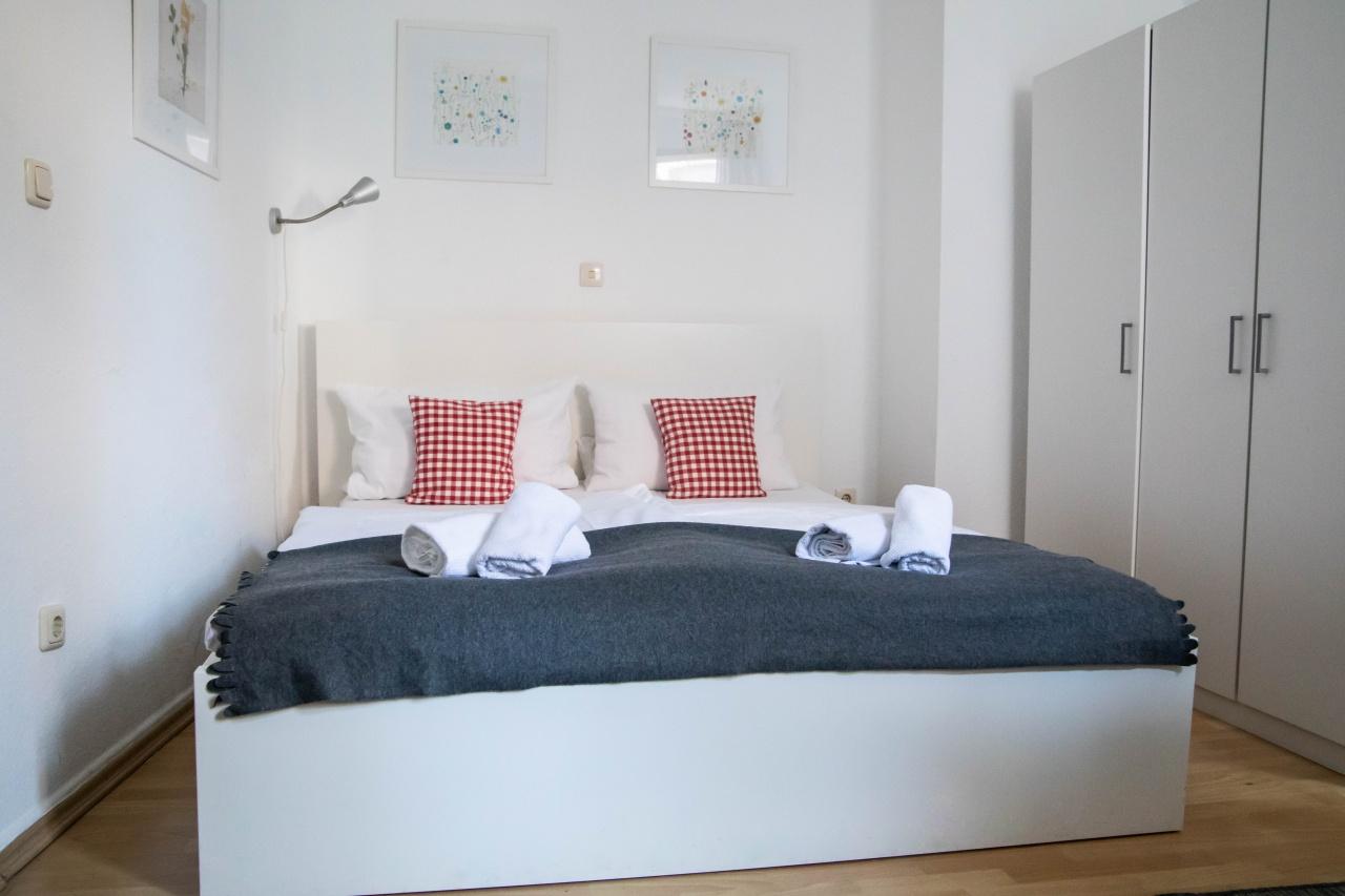 Kleineres Apartment mit Dusche/WC