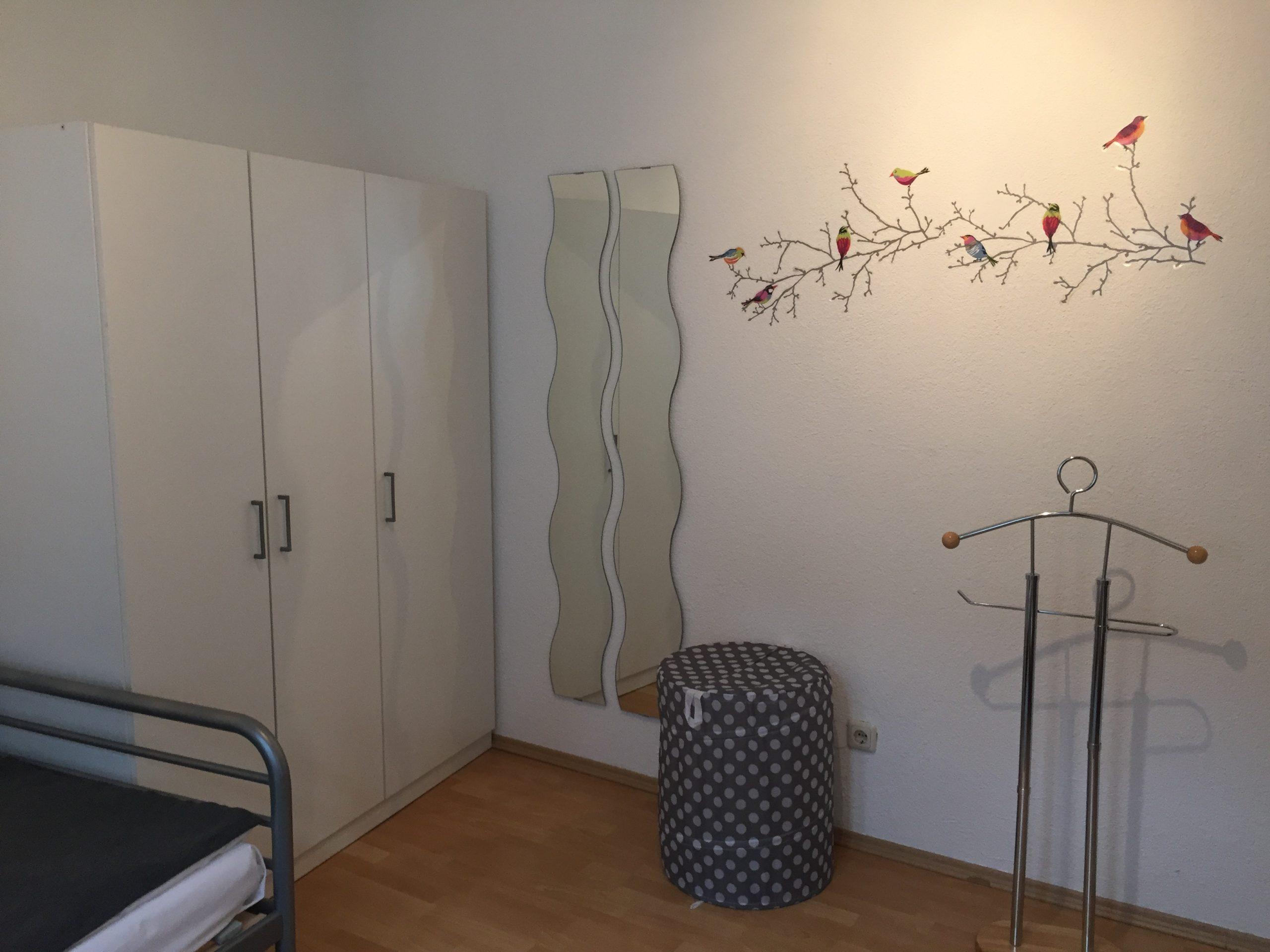 Kleineres Appartment mit Dusche/WC